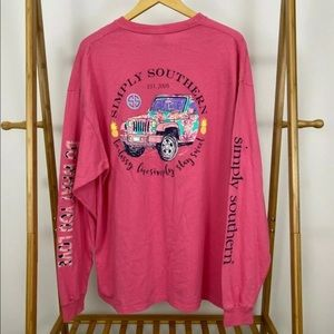 Simply Southern... (BNW/OT)Women's L Long Sleeve T